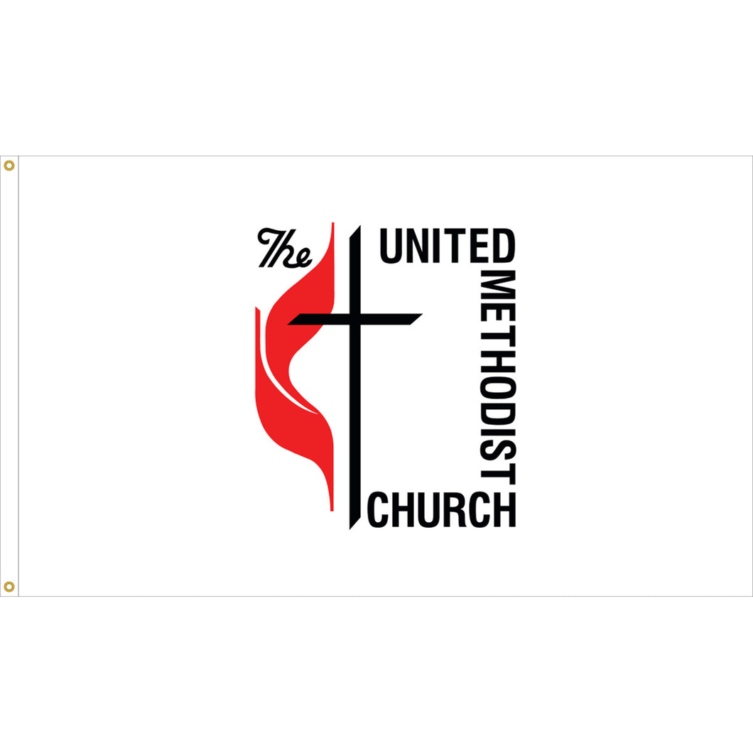 United Methodist Outdoor Nylon Flag