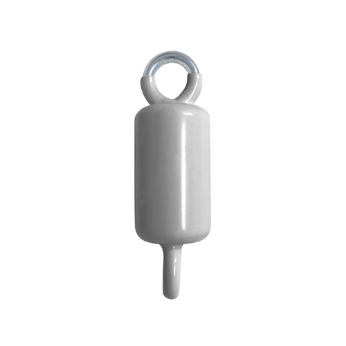 3.5 lb Double Eye Counterweight - Silver/Gray