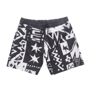 Tribal Quilt Short