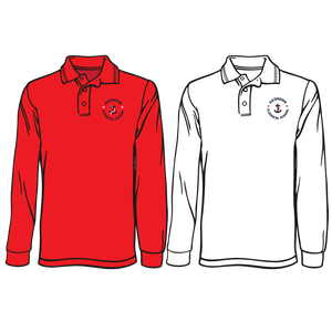 ASCENSION CLASSICAL LONG SLEEVE EMBROIDERED POLO     **Last day to order is July 26th  Please put students grade in place of teacher name