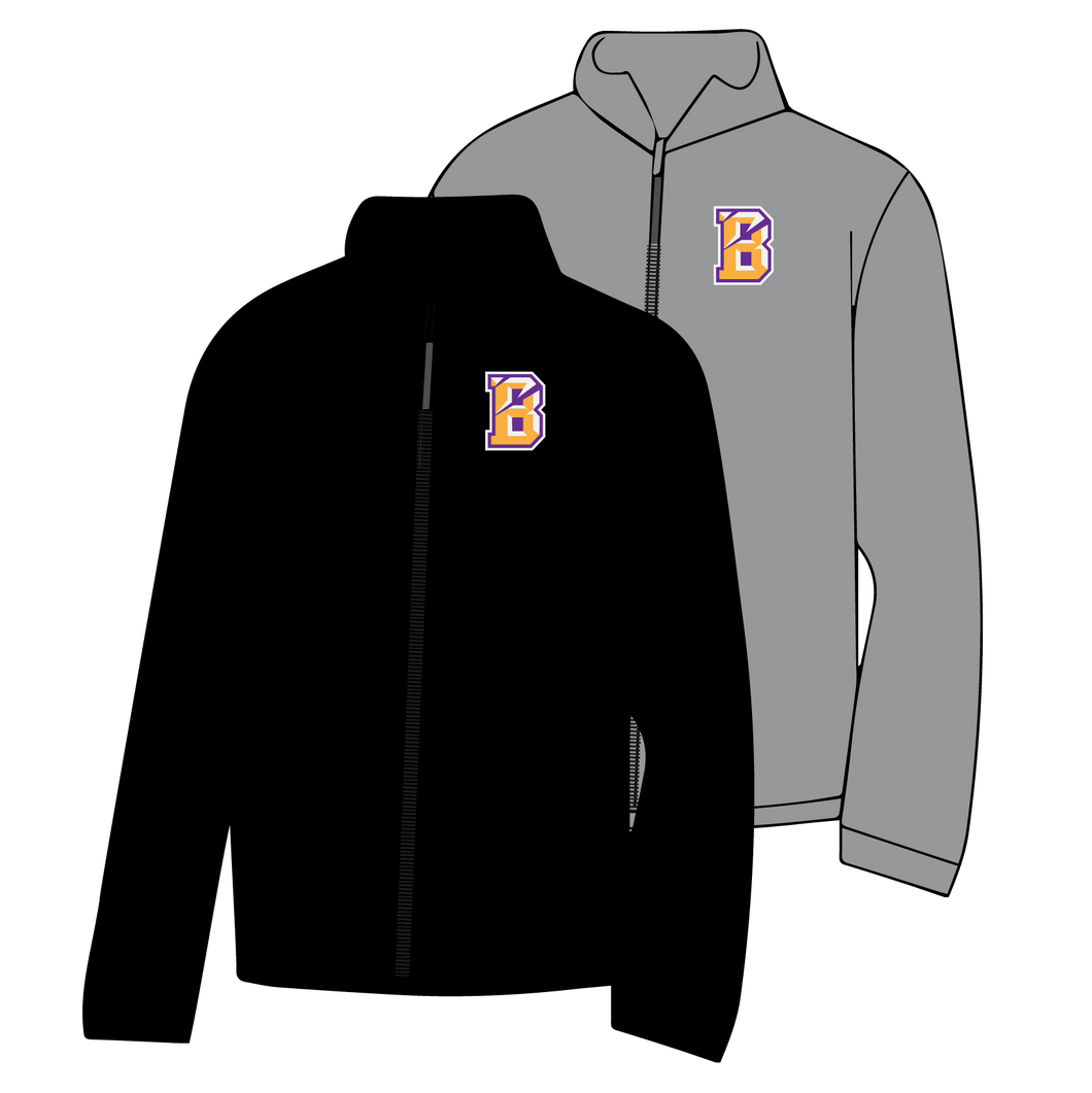 BENTON MIDDLE SCHOOL: FULL ZIP JACKET   ***PLEASE PUT STUDENTS GRADE IN PLACE OF TEACHER NAME    ***ORDERS TAKEN THROUGH AUGUST 25TH(B)