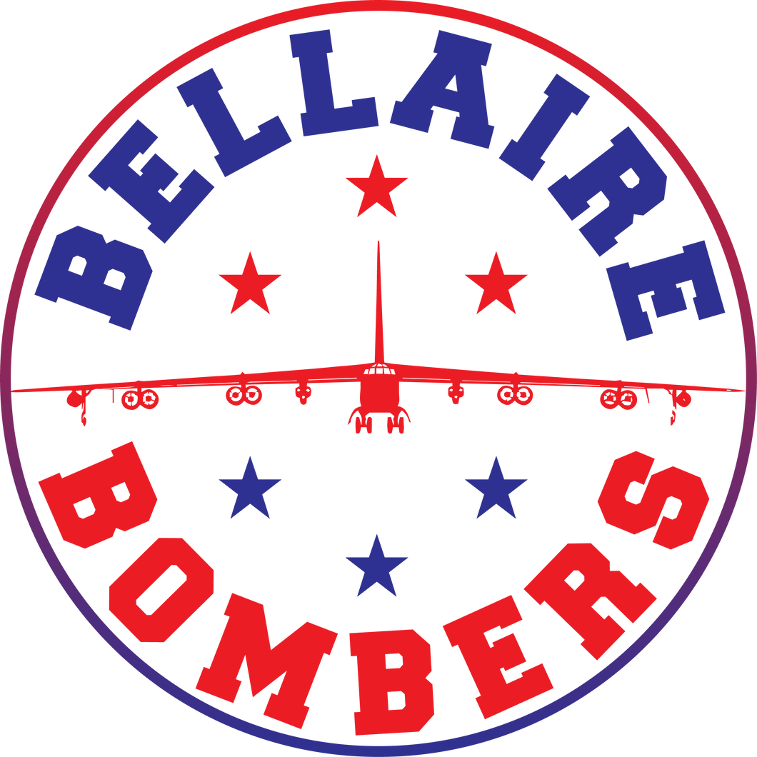 BELLAIRE ELEMENTARY: BOMBER CAR DECAL   ***PLEASE PUT STUDENTS GRADE IN PLACE OF TEACHER NAME