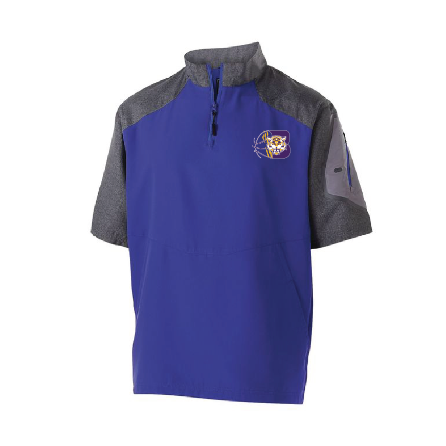 BENTON HIGH SCHOOL: BOYS BASKETBALL - HOLLOWAY SHORT SLEEVE PULLOVER -