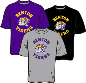 BENTON MIDDLE SCHOOL: SHORT SLEEVE TEE   ***PLEASE PUT STUDENTS GRADE IN PLACE OF TEACHER NAME    ***ORDERS TAKEN THROUGH AUGUST 25TH