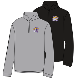 BENTON MIDDLE SCHOOL: TIGER HEAD ONLY 1/4 ZIP SWEATSHIRT  ***PLEASE PUT STUDENTS GRADE IN PLACE OF TEACHER NAME    ***ORDERS TAKEN THROUGH