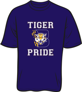 BENTON HIGH: SHORT SLEEVE SPIRIT TEE- PLEASE PUT STUDENT'S 1ST BLOCK TEACHER NAME* AVAILABLE TO ORDER THROUGH NOVEMBER 29TH