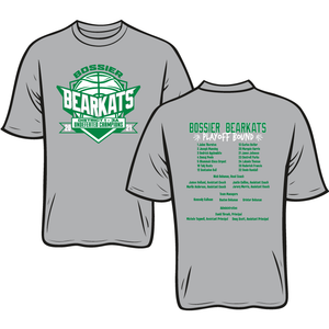 BOSSIER HIGH: BASKETBALL PLAYOFF TEES - TAKING ORDERS THROUGH MARCH 25TH