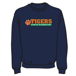 CURTIS ELEMENTARY: SWEATSHIRT  **Taking orders through OCT  16TH.
