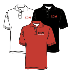 ELM GROVE MIDDLE SCHOOL - EMBROIDERED POLO - UNISEX DESIGN  ***ORDERS TAKEN THROUGH SEPTEMBER 30TH