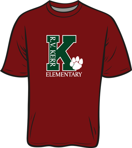 KERR ELEMENTARY: SPIRIT TEES - **TAKING ORDERS THROUGH OCTOBER 5TH