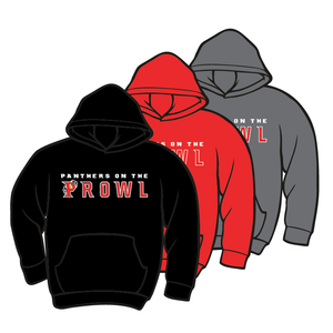 PARKWAY HIGH SCHOOL: PROWL HOODIE - TAKING ORDERS THROUGH JANUARY 25th