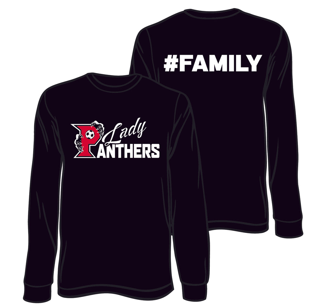 PARKWAY HIGH SCHOOL:  LONG SLEEVE DRI FIT - LADY PANTHERS SOCCER