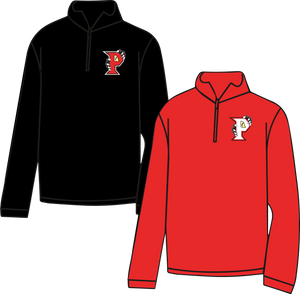 PARKWAY HIGH SCHOOL - 1/4 ZIP CADET STYLE SWEATSHIRT **ORDERS TAKEN THROUGH SEPT 20TH*****PLEASE PUT 1ST BLOCK TEACHER'S NAME *
