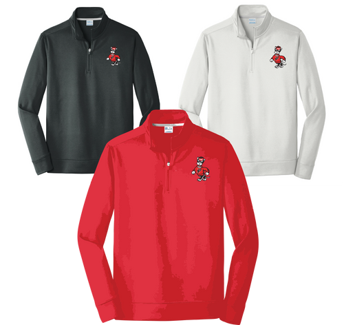 PARKWAY HIGH RETRO SPIRIT SHIRTS-SCREEN PRINTED 1/4 PULLOVER**ORDERS TAKEN THROUGH DEC 30TH***PLEASE PUT STUDENT'S 1ST BLOCK TEACHER*
