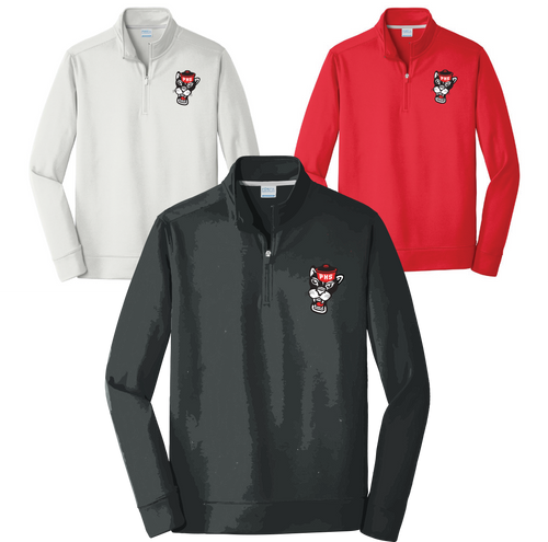 PARKWAY HIGH 20-21 RETRO SPIRIT SHIRTS - 1/4 ZIP CADET STYLE SWEATSHIRT EMBROIDERED **ORDERS TAKEN THROUGH JULY 29TH  **PLEASE PUT GRADE IN PLACE OF TEACHER