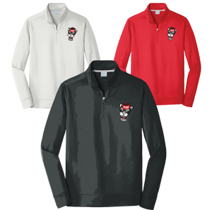 PARKWAY HIGH 20-21 RETRO SPIRIT SHIRTS - 1/4 ZIP CADET STYLE SWEATSHIRT EMBROIDERED **ORDERS TAKEN THROUGH oct 20TH  **PLEASE PUT GRADE IN PLACE OF TEACHER