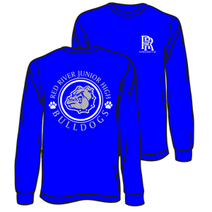 RED RIVER JUNIOR HIGH -LONG SLEEVE SPIRIT TEE **ORDERS WILL BE TAKEN THROUGH OCT 17TH