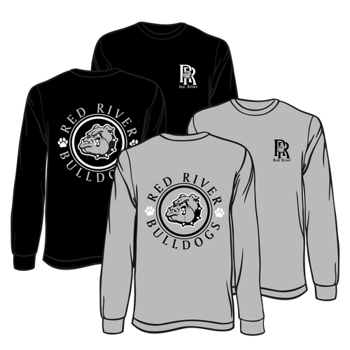 RED RIVER HIGH - LONG SLEEVE ROUND LOGO   **ORDERS WILL BE TAKEN THROUGH OCT 17TH