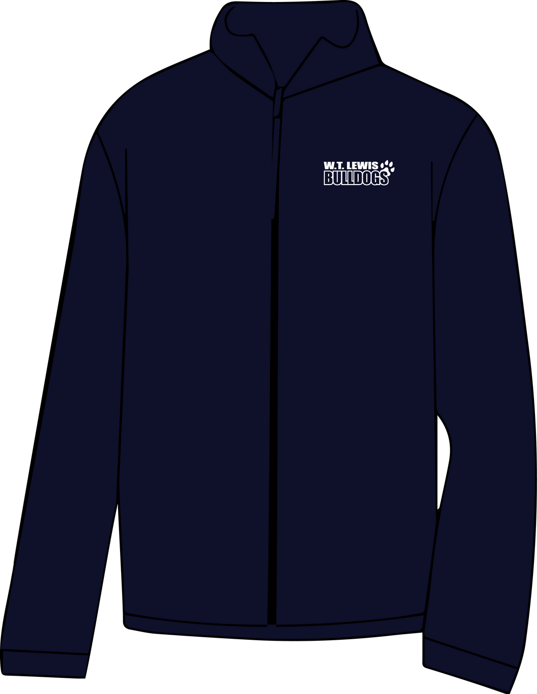 W.T. LEWIS ELEMENTARY EMBROIDERED FLEECE JACKET ***ORDERS TAKEN THROUGH NOV 3RD***PUT STUDENTS GRADE FOR TEACHER NAME