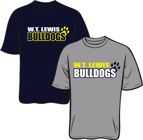 W.T. LEWIS ELEMENTARY SPIRIT TEES**PICK UP WILL BE AT THE SCHOOL ON AUGUST 5TH **PLEASE PUT THE STUDENTS NAME IN PLACE OF HOMEROOM TEACHER