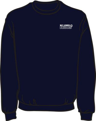 W.T. LEWIS ELEMENTARY - SPIRIT SWEATSHIRTS **PICK UP AT SCHOOL ON AUGUST 5TH***PLEASE PUT STUDENTS GRADE IN PLACE OF TEACHER NAME
