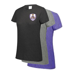 BENTON HIGH SCHOOL GIRLS SOCCER: LADIES CUT TRI BLEND T-SHIRT - TAKING ORDERS THROUGH JANUARY 18TH