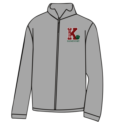 KERR ELEMENTARY: FULL ZIP FLEECE - **TAKING ORDERS THROUGH OCTOBER 5TH