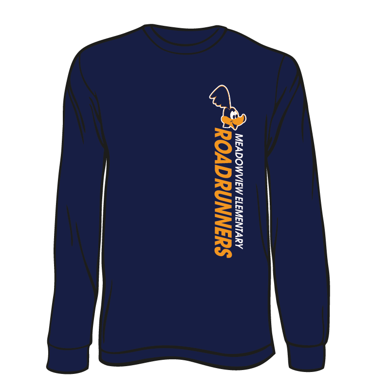 MEADOWVIEW ELEMENTARY SPIRIT LONG SLEEVE TEES - ORDER THROUGH JANUARY 15TH