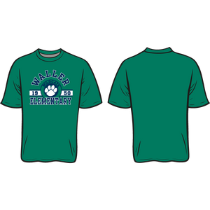 WALLER ELEMENTARY SPIRIT TEE  *AVAILABLE TO ORDER NOVEMBER 4-NOVEMBER 27* ALL ORDERS WILL BE SHIPPED TO THE SCHOOL THE FIRST WEEK OF DECEMBER!!