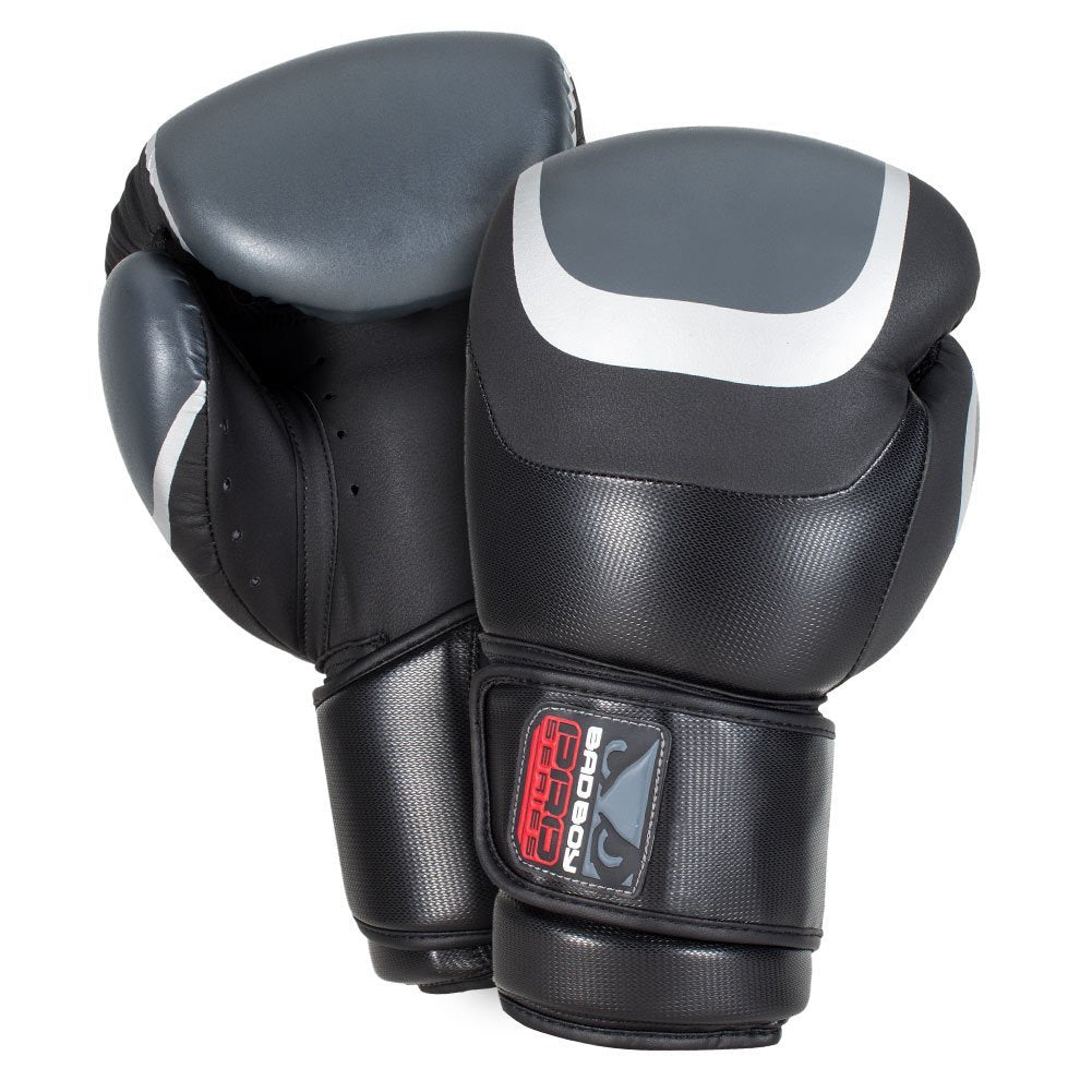 Bad Boy Pro Series 3 0 Boxing Gloves Black Grey Silver