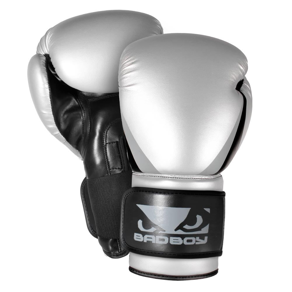 Bad Boy Training Series 2 0 Boxing Gloves Silver - Bad Boy