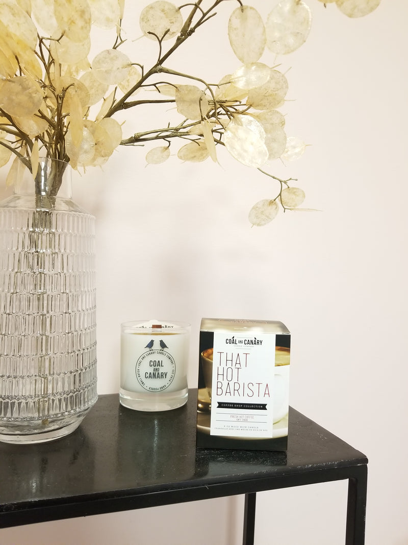 Coal & Canary Candle Co. Coffee Shop Collection