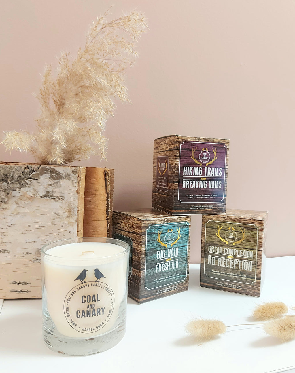 Coal & Canary Candle Co.- Glamping Collection