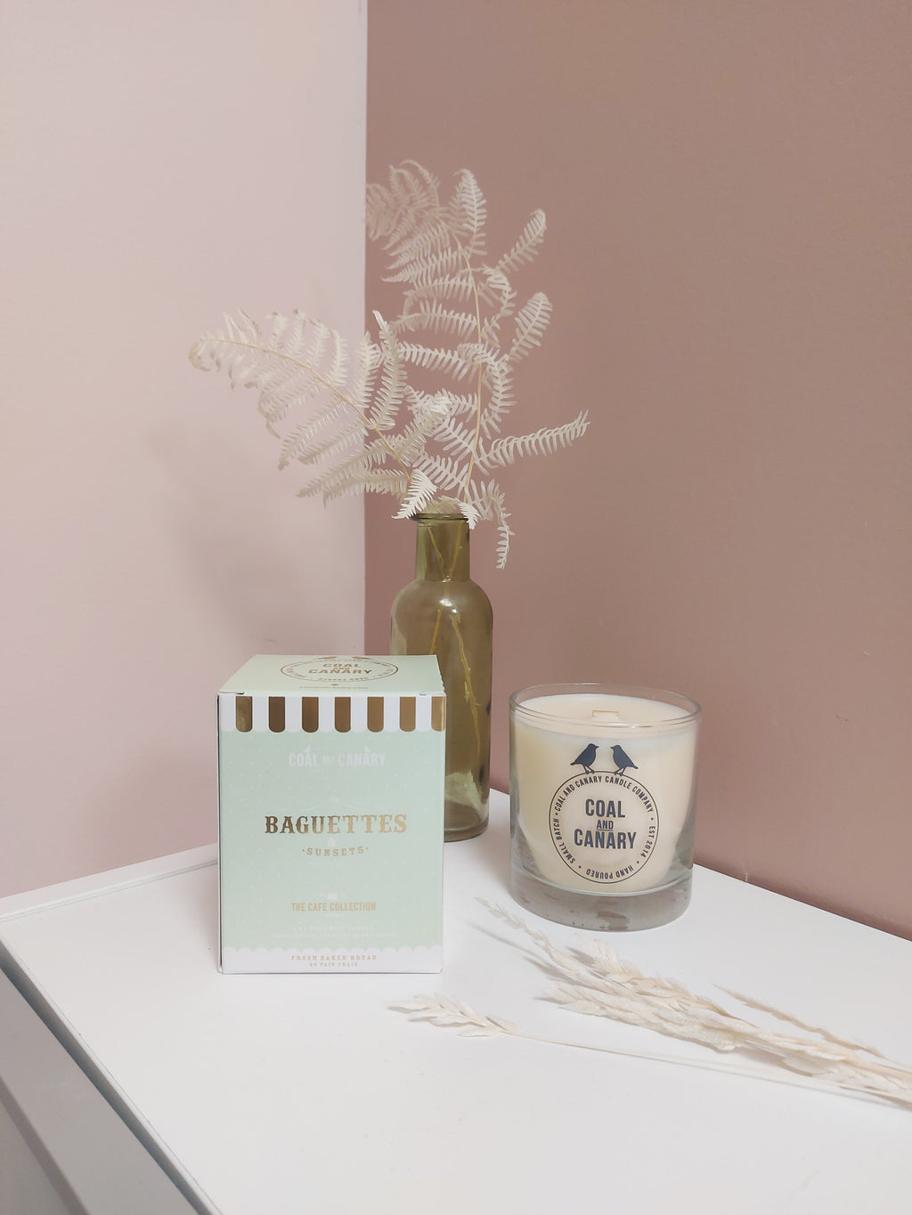 Coal & Canary Candle Co. Baguettes & Sunsets