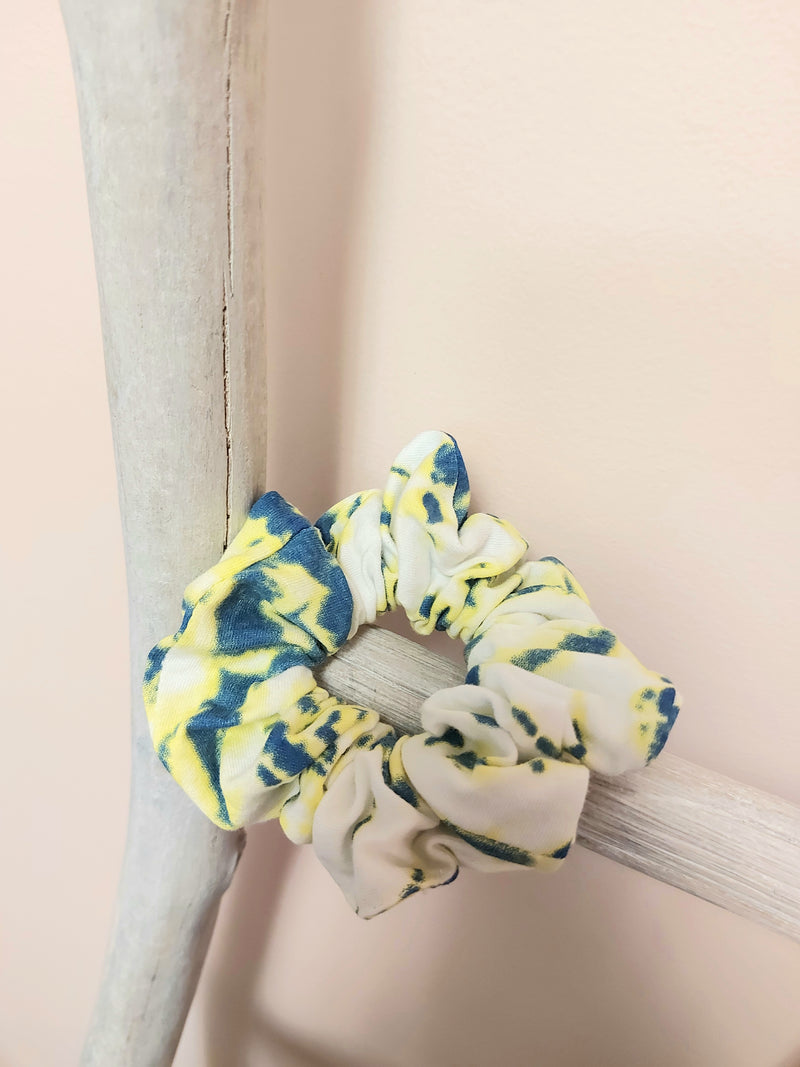 Tie Dye Cotton Scrunchies