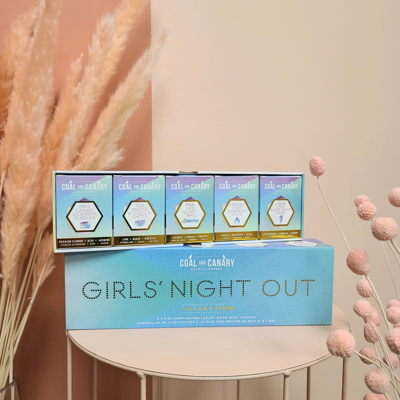 Coal & Canary Candle Co. Girls Night Out Box Set