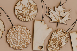Re-scentable Wood Air Freshener