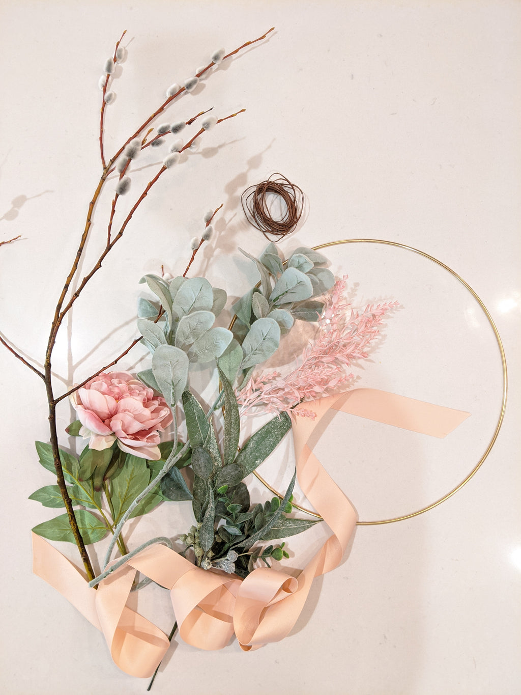 DIY kit - Spring Wreath