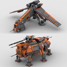 Load image into Gallery viewer, NEW! GEO DROPSHIP & AT-OT / AT-TE (COMBO SET)