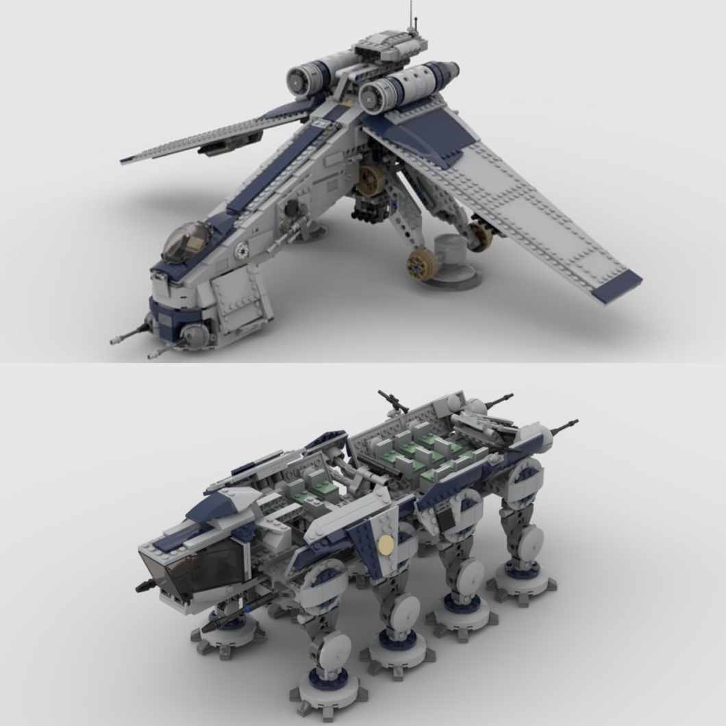NEW! WOLFPACK DROPSHIP & AT-OT / AT-TE (COMBO SET)