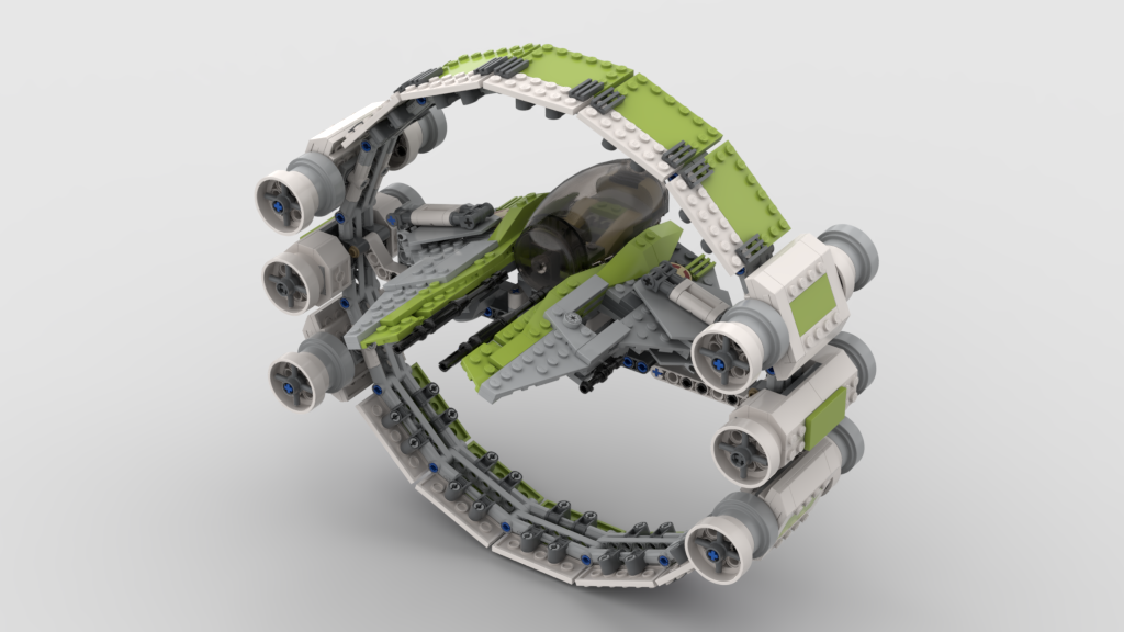 KIT FISTO JEDI INTERCEPTOR