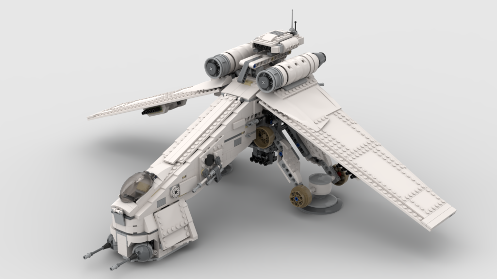 SNOW ASSAULT REPUBLIC DROPSHIP