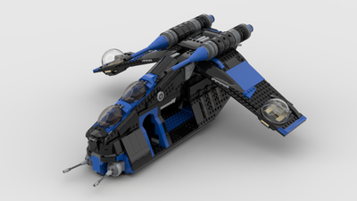 SHADOW 501ST REPUBLIC GUNSHIP (SHIPS SEPT 15TH)