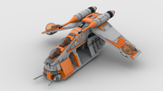 212TH REPUBLIC GUNSHIP (SHIPS SEPT 15TH)