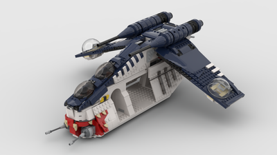 MUUNILINST 10 REPUBLIC GUNSHIP  (PRE ORDER SHIPS BY SEPT 30th)