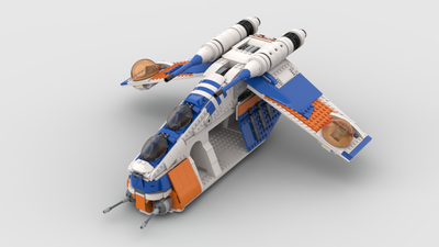 332ND REPUBLIC GUNSHIP (SHIPS SEPT 15TH)