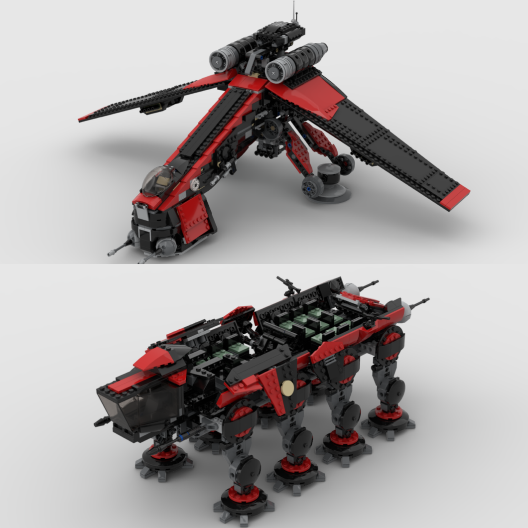 NEW! Shadow Shock DROPSHIP & AT-OT / AT-TE (COMBO SET)