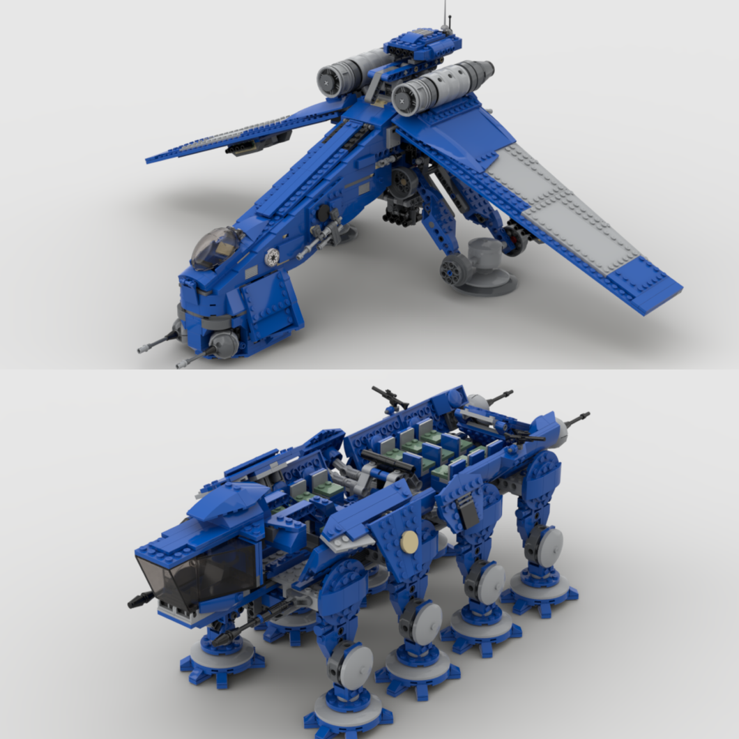 501ST DROPSHIP & AT-OT / AT-TE (COMBO SET)