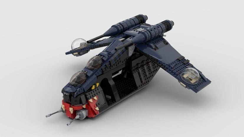 "NEW! Shadow Muunilinst 10 Republic Gunship ""Tatsu"" 1/10 Exclusive Set"