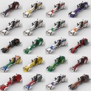 BARC CLONE SPEEDERS FOR BUILD YOUR OWN BATTLEPACK (PRE ORDER SHIPS OCT 15TH)